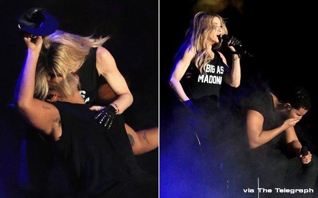 Madonna Drake Kissing